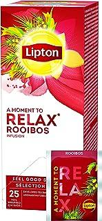 Lipton Aromatisierter Rooibos Tee dezente Gewürznote, 3er Pack 3 x 25 Teebeutel