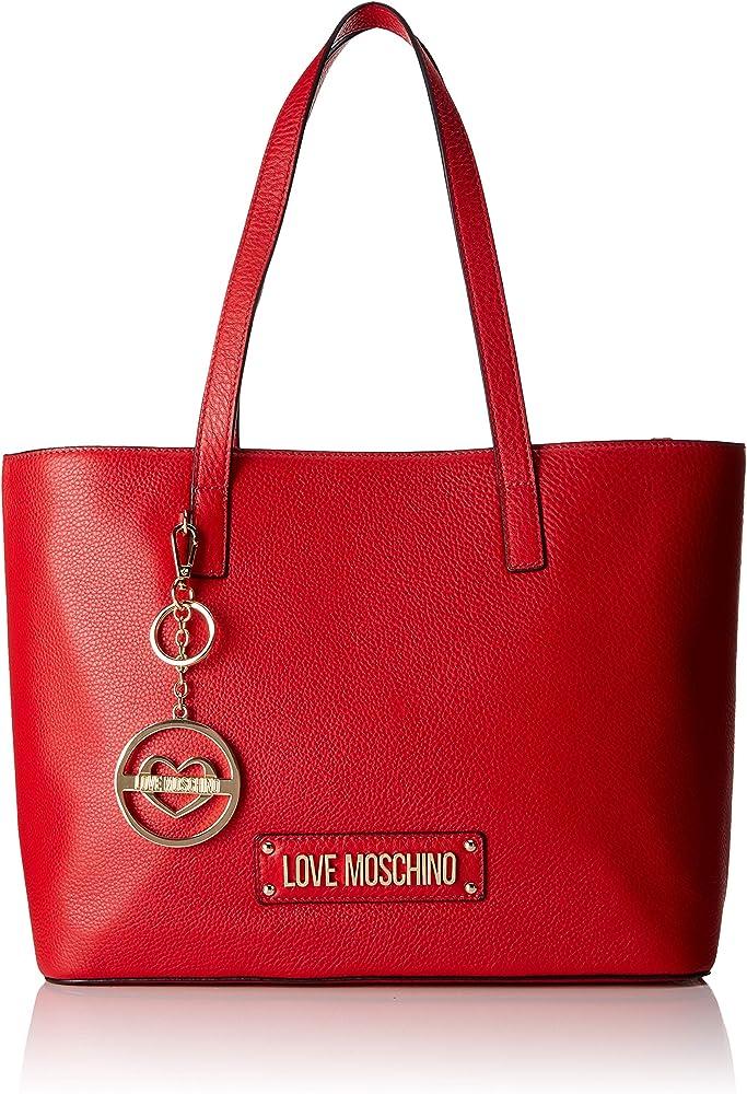 Love moschino,borsa per donna,in vera pelle al 100 % JC4350PP06K10