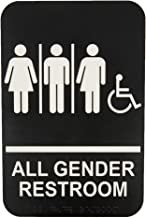 Best all gender restroom sign Reviews