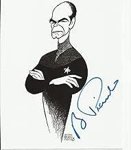 Robert Picardo Al Hirschfeld image hand-signed 8 x 10 photo C of A