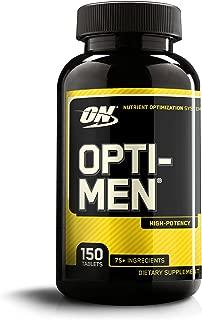 OPTIMUM NUTRITION Opti-Men, Mens Daily Multivitamin Supplement with Vitamins C, D, E, B12, 150 Count