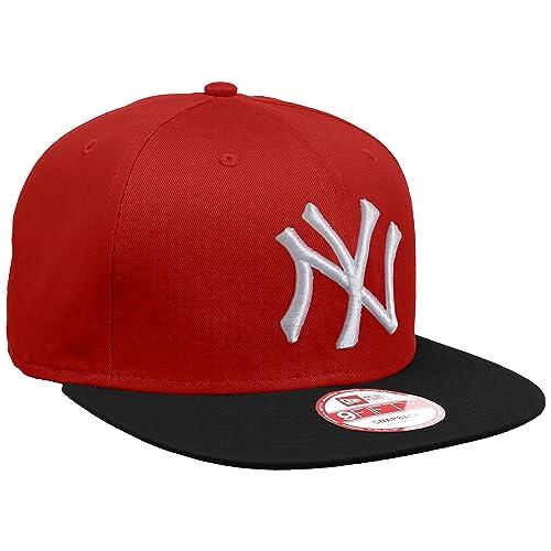 1e218bdb1d1 New Era Men s MLB Cotton Block NY Yankees 9Fifty Snapback Baseball Cap
