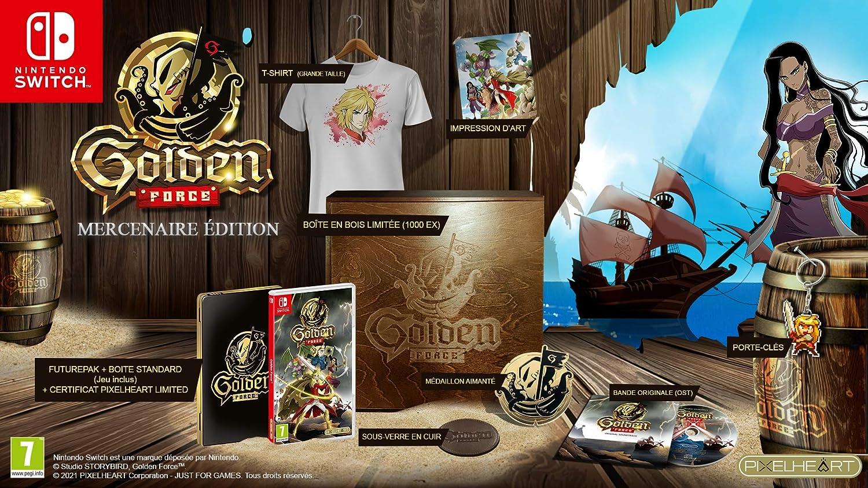 Golden Force Mercenary Edition Collector (Nintendo Switch)