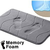 Memory Foam Coral Fleece Non Slip Bathroom Mat