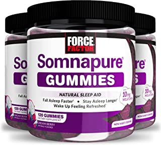 Sponsored Ad - Force Factor Somnapure Gummies 120ct 3-Pack, 360 Count