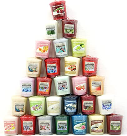 40 x Home Inspiration Ufficiale Yankee Candle Votive Candele fragranze assortite Rare da Tutta la Gamma