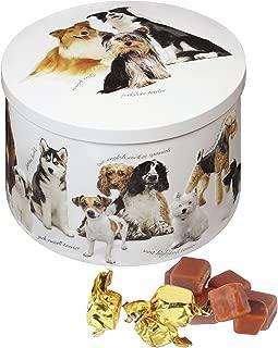 Gardiners Of Scotland Dog Tin filled with Luxury Traditional Scottish Vanilla Fudge, 7 Ounce