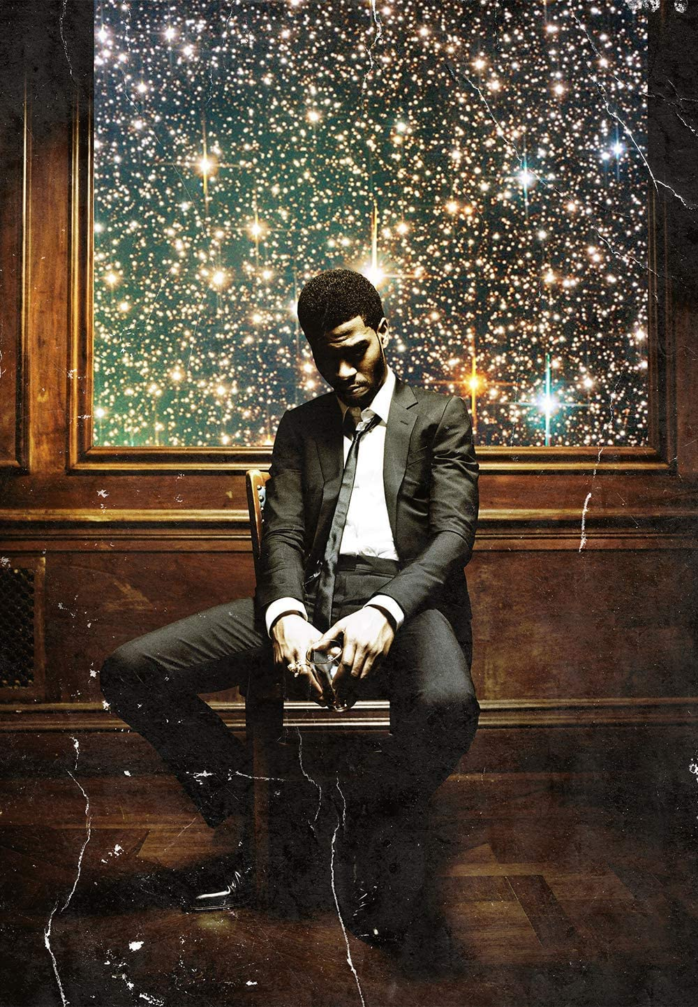 Kid Cudi Man On The Moon II The Legend of Mr. Rager Music Poster 11 x 17 inch Poster Print Frameless Art Gift 28 x 43 cm Matte Paper Surface