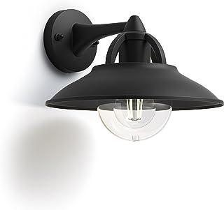 Philips myGarden Cormorant lampa ścienna, wymienne źródło światła, czarna