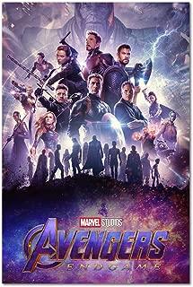 Avengers Endgame Poster - International Art - 2019 Marvel Movie (11x17)