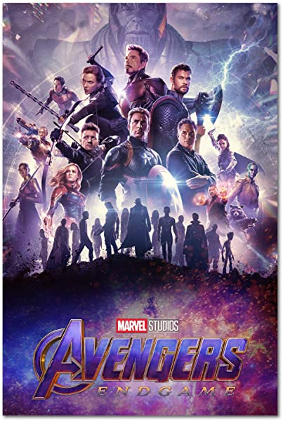 Avengers Endgame Poster International Art 2019 Marvel Movie 24x36