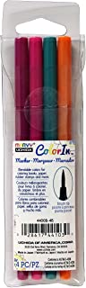 مجموعة أقلام تحديد برأس فرشاة من يوتشيدا، ألوان زاهية