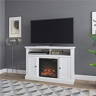 Ameriwood Home Noah Bay Fireplace 48
