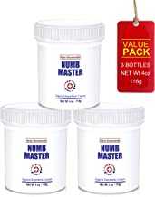 Clinical Resolution Non-oily Numb Master Topical Anesthetic Cream (12 oz (3 jars x 4oz))