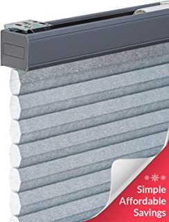 CHICOLOGY Cordless Cellular Shades Privacy Single Cell Window Blind, 30