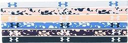 Under Armour - UA Graphic Mini Headband 6-Pack