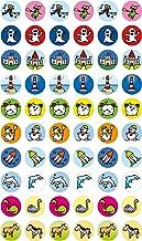 Motivationssticker: Tiere, verschiedene Figuren, Burg, Leuchtturm, Rakete