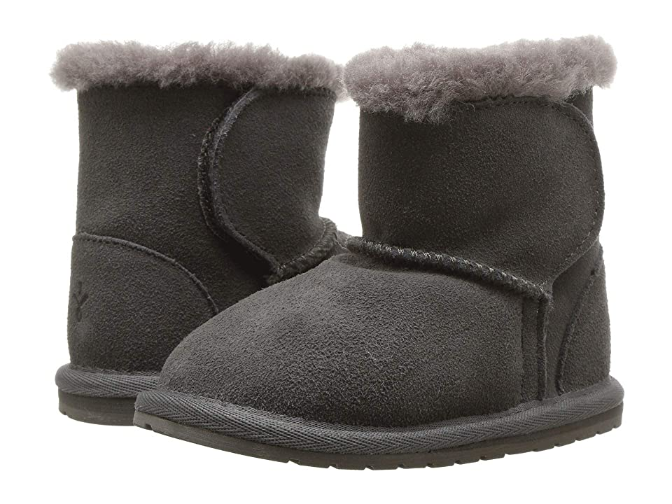 EMU Australia Kids Toddle (Infant) (Charcoal) Kids Shoes