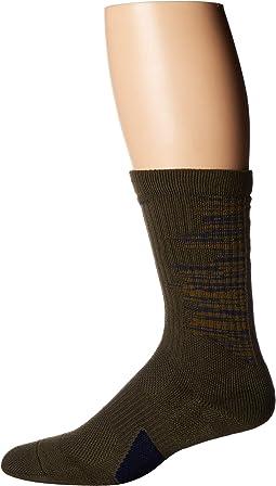 Elite Graphic Basketball Crew Socks