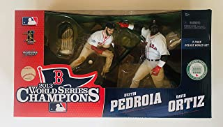 McFarlane Toys 2013 World Series Champions Boston Red Sox 2 pack Deluxe Boxed Set - Dustin Pedroia and David Ortiz