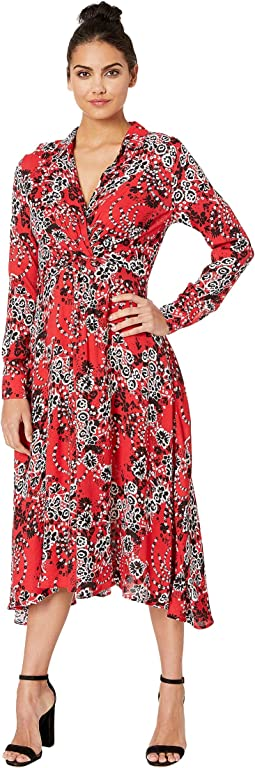 4d41c0be5f2 Free people claire printed maxi dress