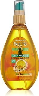 Garnier Skin and Hair Care Fructis Marvelous Oil Deep Nourish 5-Action Hair Elixir for Dry and Damaged Hair, 5 Fluid Ounce