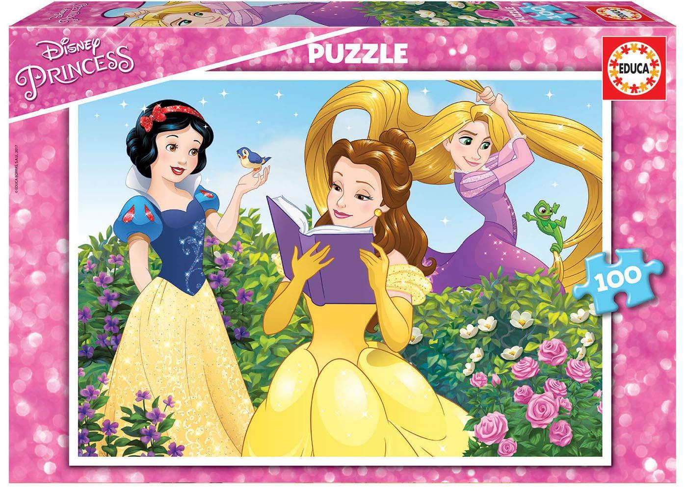 Educa- Princesas Disney Puzzle Infantil de 100 Piezas, a Partir de 6 años (17167): Amazon.es: Juguetes y juegos