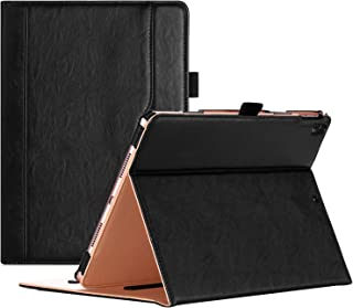 "ProCase iPad Air (3rd Gen) 10.5"" Case 2019, Vintage Stand Folio Case Cover for Apple iPad Air (3rd Gen) 10.5"" 2019 and iPad Pro 10.5 2017, Multiple Viewing Angles, with Apple Pencil Holder -Black"