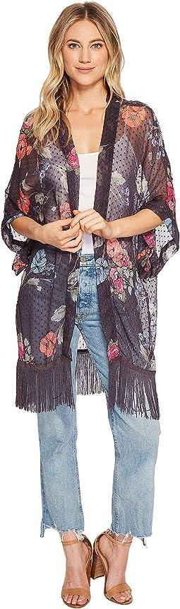 Swiss Dot Kimono