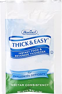 Thick & Easy Instant Food Thickener, Nectar Consistency, 25 individual packets