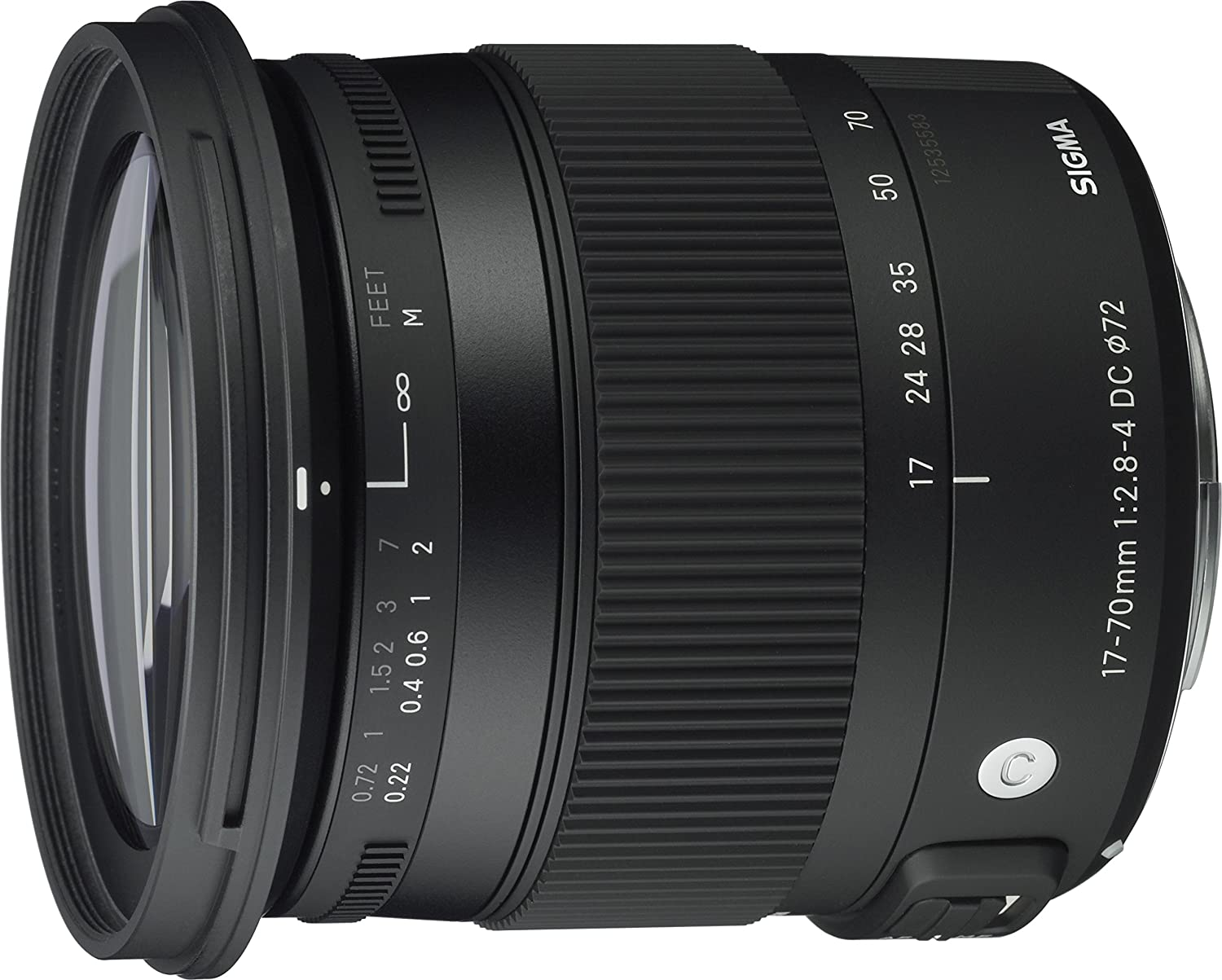 Sigma 17-70mm f/2.8-4 DC Macro OS HSM for Canon (EF-S mount)