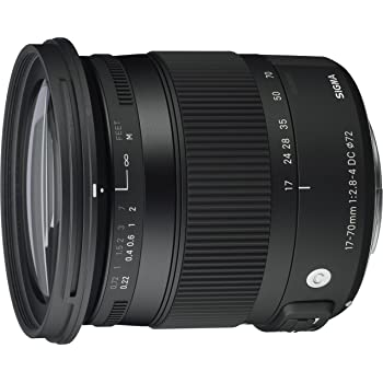 SIGMA ズームレンズ Contemporary 17-70mm F2.8-4 DC MACRO OS HSM キヤノン用 APS-C専用 884543