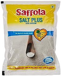 Saffola Salt Plus - Less Sodium, 1kg Pack