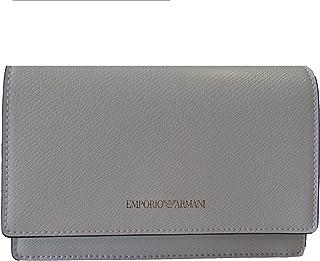 Emporio Armani , Damen Henkeltasche Weiß Bianco 18X12,5X6
