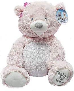 CUDDLE BARN Pink My First LullabyTeddy Teddy Bear TY-B1-P