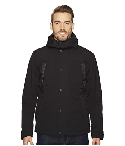 The North Face Stetler Insulated Rain Jacket (TNF Black) Men
