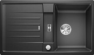 BLANCO 524900 Lexa 45 S Küchenspüle, anthrazit, 45 cm Unterschrank