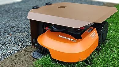 Sidewall afdekking voor robotmaaier WORX LANDROID en KRESS met zijdelingse oplading met klapdeksel en regensensor (Landroi...