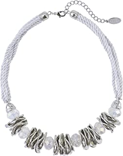 BOCAR Handmade Chunky Statement Necklace Choker Collar Necklace Jewelry for Women