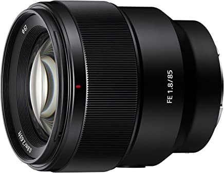 Sony SEL85F18    SYX Lente FE 85mm F1.8, color Negro