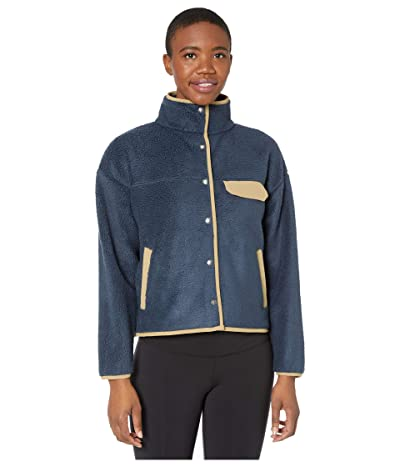 The North Face Cragmont Fleece Jacket (Urban Navy/Kelp Tan) Women