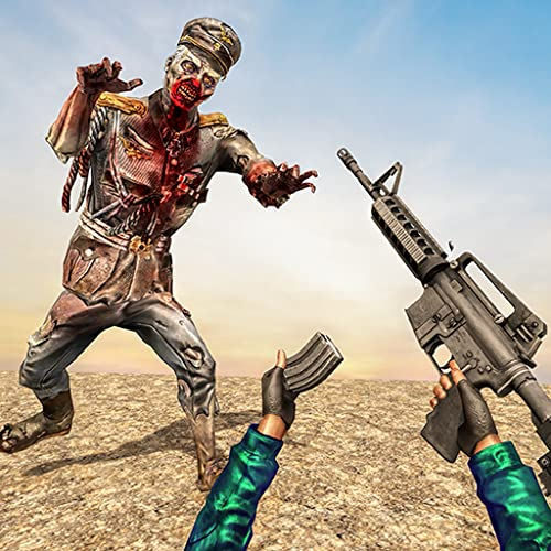 Zombie Apocalypse Survival War Dead Shooter Killer