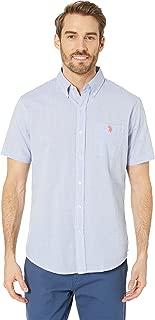 U.S. Polo Assn. Men's Short Sleeve Striped Sport Shirt