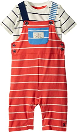 Jersey Overall T-Shirt Set (Infant)