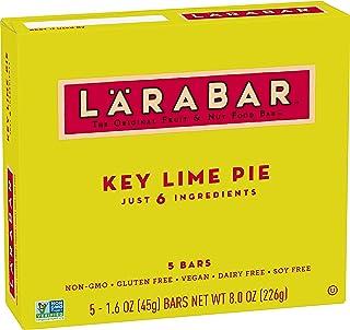 Larabar, Fruit & Nut Bar, Key Lime Pie, Gluten Free, Vegan, 5 ct, 8 oz (Pack of 7)