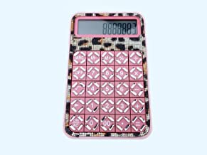 $40 » blingustyle Sparkly Crystal Leopard Pink 12 Digits Calculator home/office gift