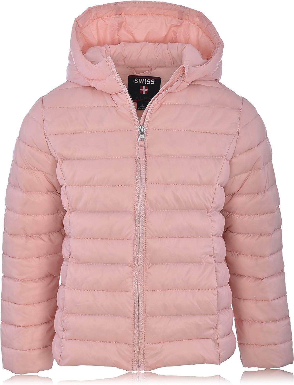 Swiss Alps Girls Packable Puffer Jacket