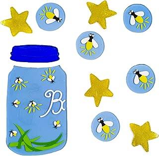 Design Ideas GelGems Summertime Themed Gel Window Clings (Fireflies, Small Bag)