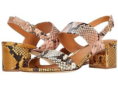 Tory Burch Gigi 55 mm Sandal (Blush/Warm Roccia) Women
