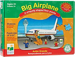The Learning Journey Big Airplane Floor Puzzle